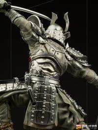 Gallery Image of Silver Samurai 1:10 Scale Statue