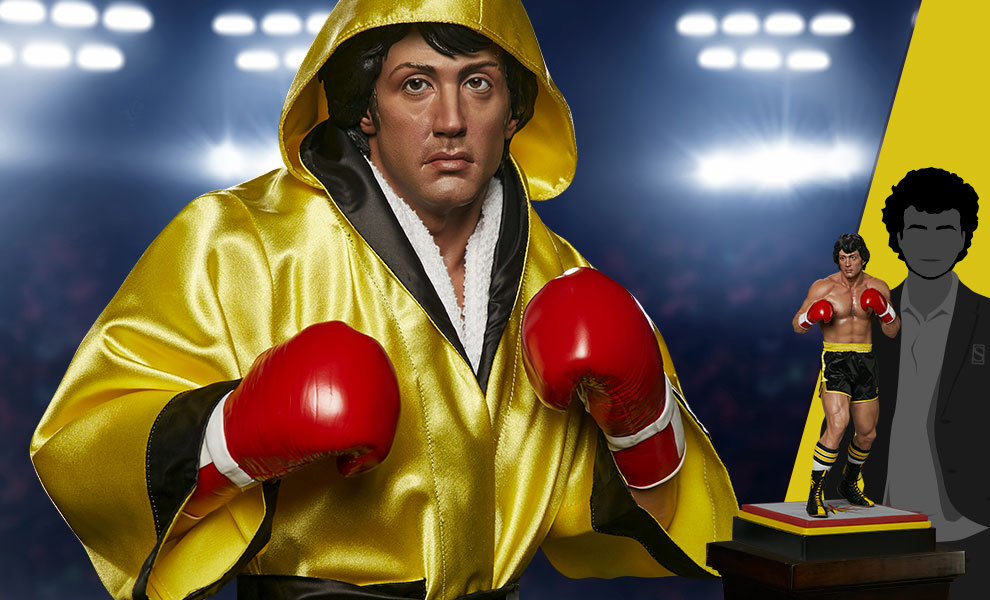 Gallery Feature Image of Rocky II Statue - Click to open image gallery