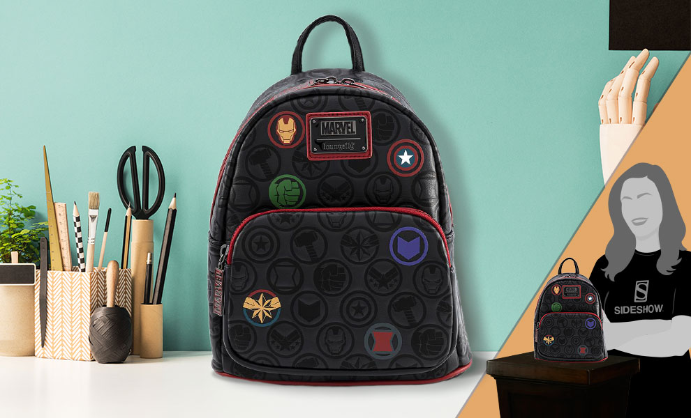 Gallery Feature Image of Marvel Icons AOP Mini Backpack Apparel - Click to open image gallery