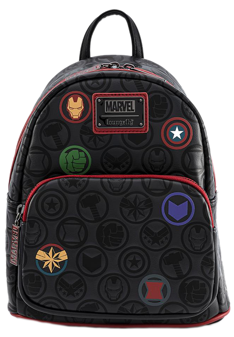 Loungefly Marvel Icons AOP Mini Backpack Apparel
