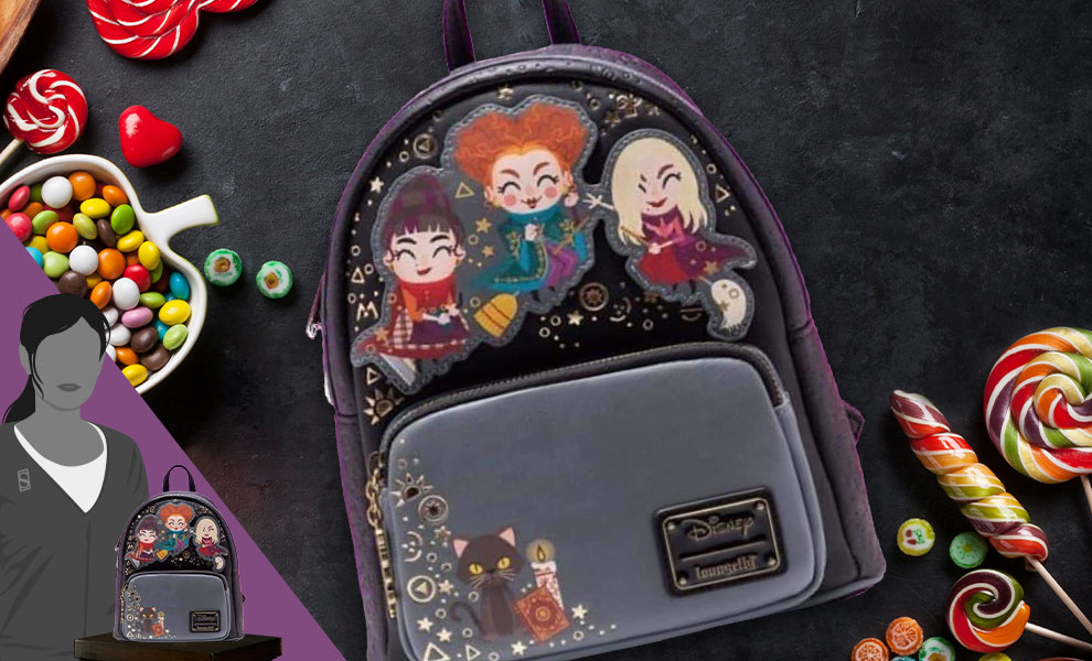 Gallery Feature Image of Hocus Pocus Mini Backpack Apparel - Click to open image gallery