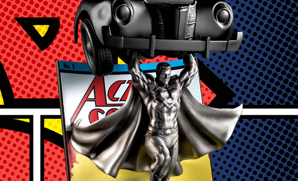Gallery Feature Image of Superman Action Comics #1 Pewter Collectible - Click to open image gallery