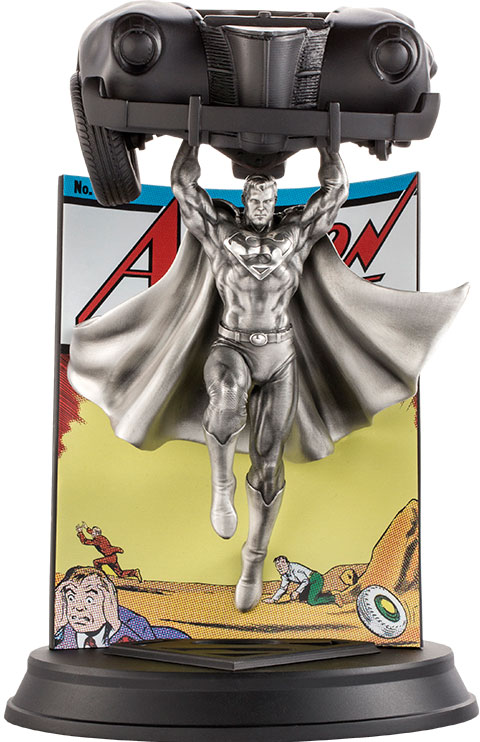 Royal Selangor Superman Action Comics #1 Pewter Collectible