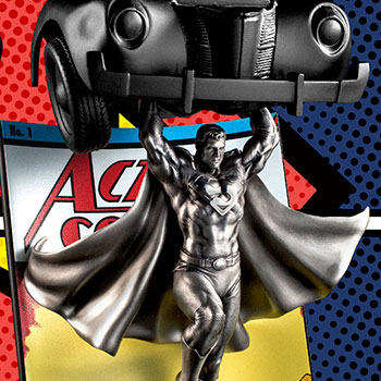 Superman Action Comics #1 Pewter Collectible