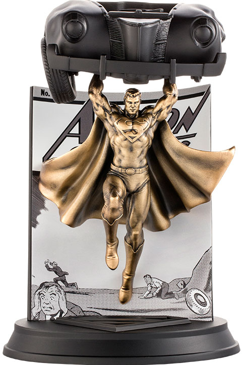 Royal Selangor Superman Action Comics #1 (Gilt Limited Edition) Pewter Collectible