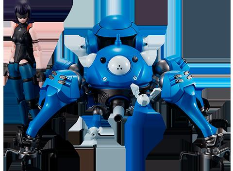 MegaHouse Tachikoma and Motoko Kusanagi Collectible Set