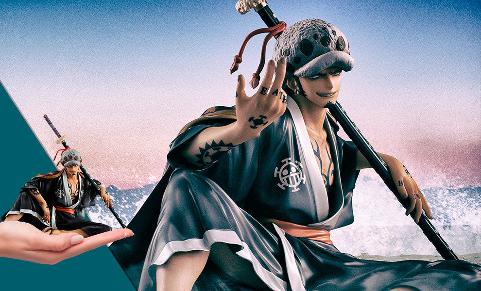 Gallery Feature Image of Portrait of Pirates Warriors Alliance Trafalgar Law Collectible Figure - Click to open image gallery