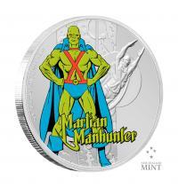 Gallery Image of Martian Manhunter 1oz Silver Coin Silver Collectible