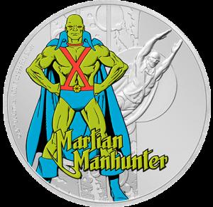 Martian Manhunter 1oz Silver Coin Silver Collectible