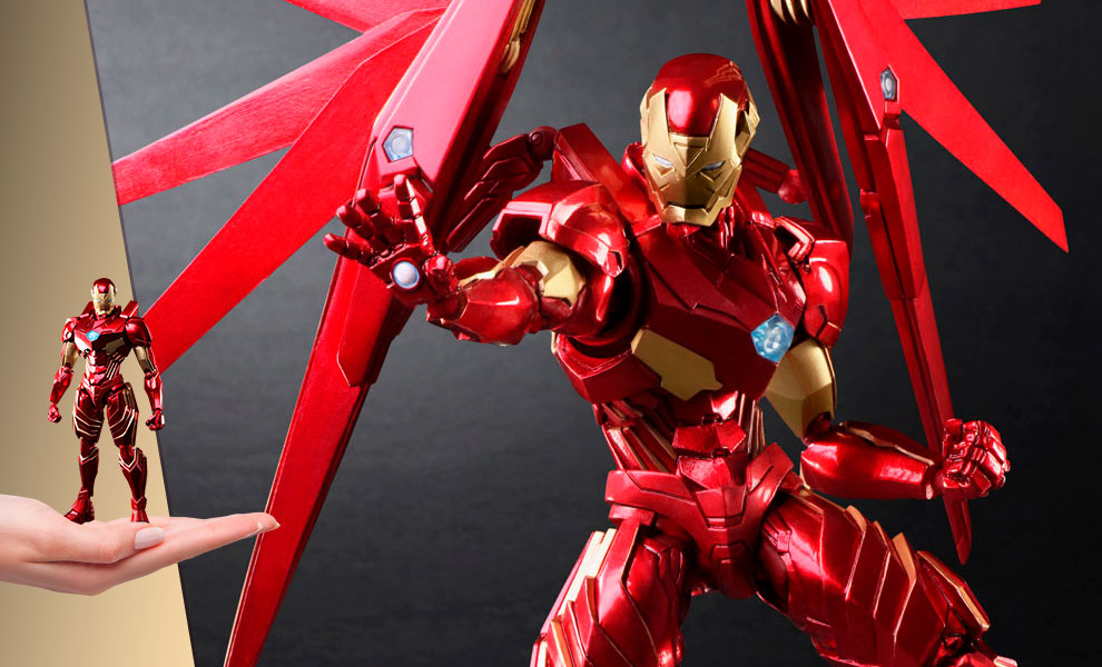 Gallery Feature Image of Iron Man Action Figure - Click to open image gallery
