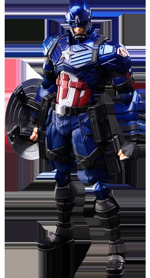 Square Enix Captain America Action Figure