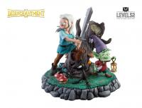 Gallery Image of The Princess, The Elf, and The Demon Polystone Statue