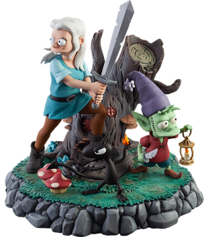 The Princess, The Elf, and The Demon Polystone Statue