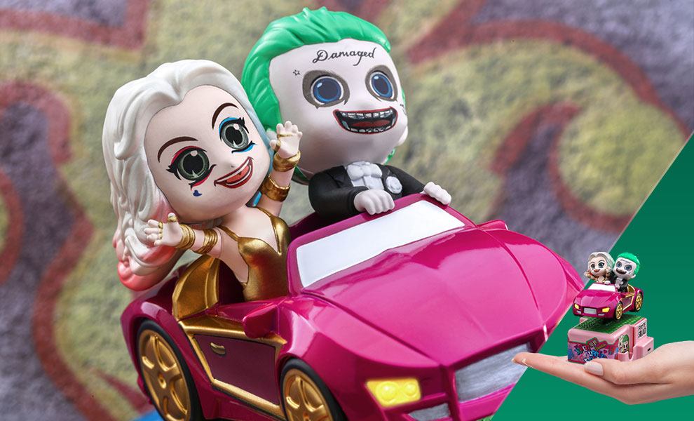 Gallery Feature Image of The Joker & Harley Quinn Collectible Figure - Click to open image gallery