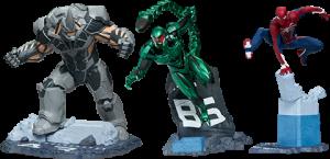 Spider-Man/Rhino/Scorpion Collectible Set