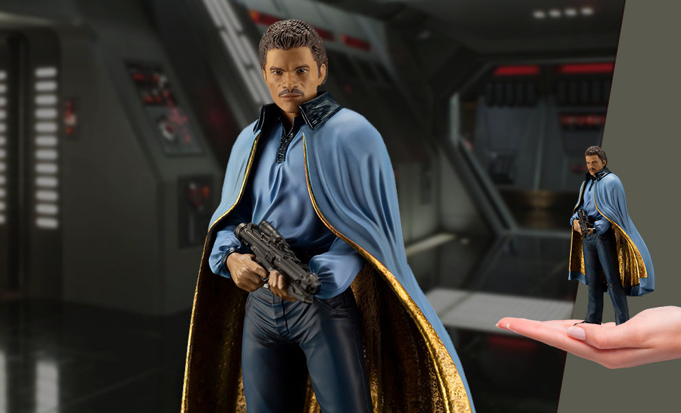 Gallery Feature Image of Lando Calrissian 1:10 Scale Statue - Click to open image gallery