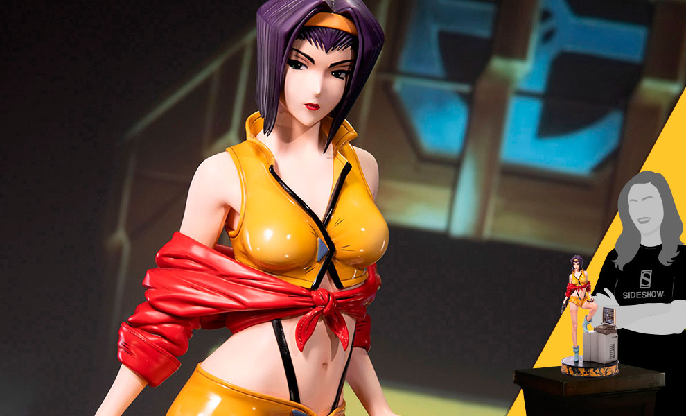 Gallery Feature Image of Faye Valentine Statue - Click to open image gallery