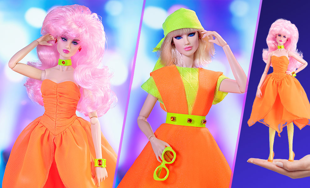 Gallery Feature Image of Up & Rockin' Jerrica Benton™/JEM™ Flip-Side Gift Set Collectible Doll - Click to open image gallery