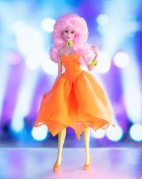 Gallery Image of Up & Rockin' Jerrica Benton™/JEM™ Flip-Side Gift Set Collectible Doll