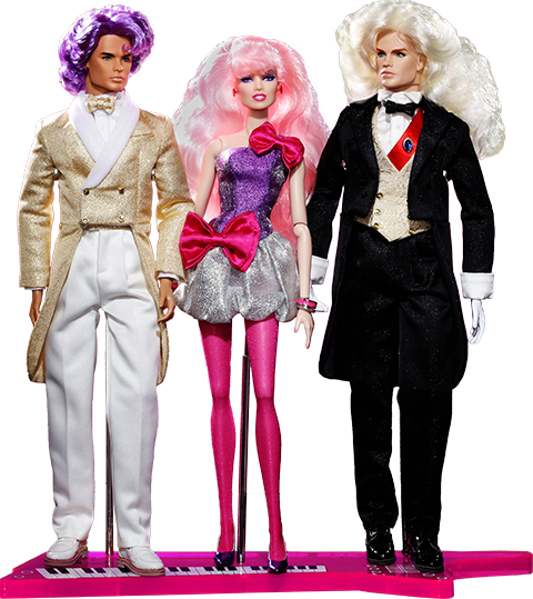 Integrity Toys Perfect Match Rio Pacheco™, JEM™ and Riot Llewelyn™ Gift Set Collectible Doll