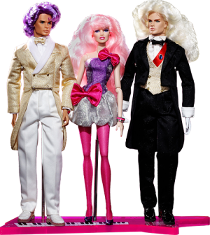 Perfect Match Rio Pacheco™, JEM™ and Riot Llewelyn™ Gift Set Collectible Doll