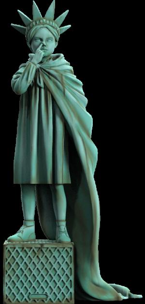 Liberty Girl (Freedom Edition) Polystone Statue