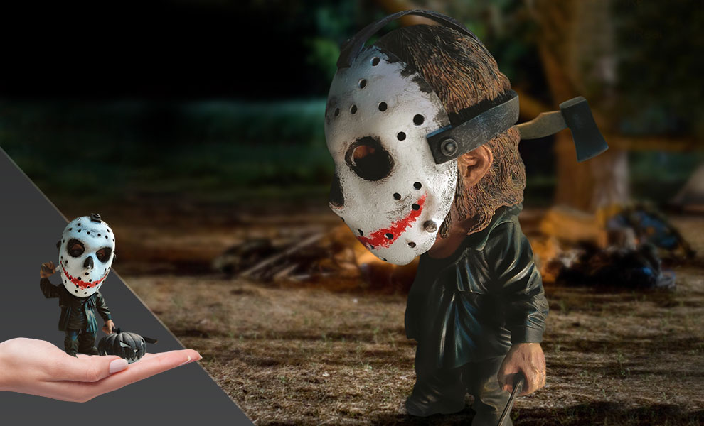 Gallery Feature Image of Jason (Halloween Version) Statue - Click to open image gallery