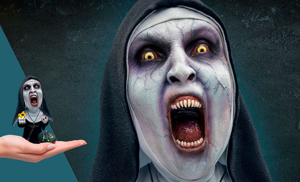 Gallery Feature Image of Valak (Open Mouth Halloween Version) Statue - Click to open image gallery