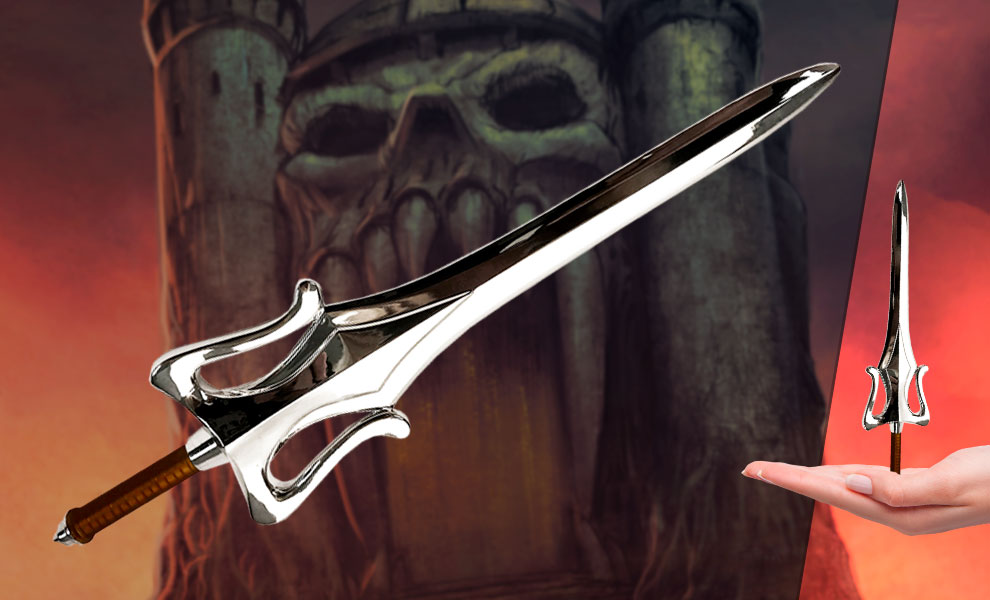 Gallery Feature Image of He-Man Power Sword Prop Replica - Click to open image gallery
