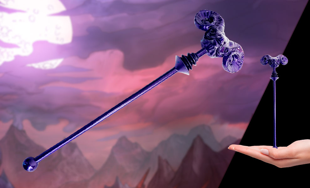 Gallery Feature Image of Skeletor Havoc Staff Prop Replica - Click to open image gallery