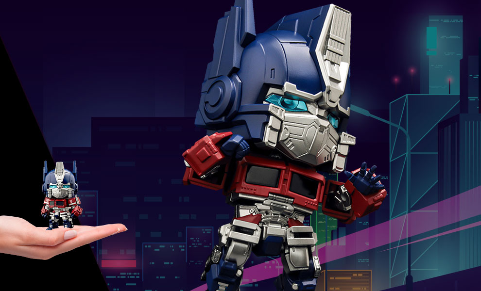 Gallery Feature Image of Optimus Prime Nendoroid Collectible Figure - Click to open image gallery