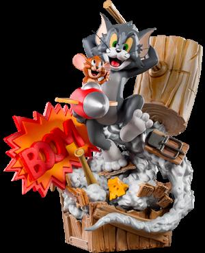 Tom & Jerry Statue