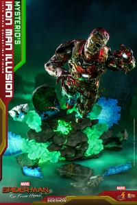 Gallery Image of Mysterio's Iron Man Illusion Sixth Scale Figure