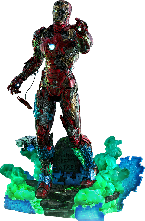 Hot Toys Mysterio's Iron Man Illusion Sixth Scale Figure