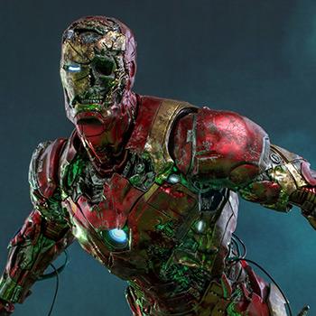 Mysterio's Iron Man Illusion Sixth Scale Figure