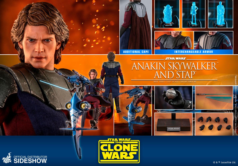 Anakin Skywalker /& STAP Figures