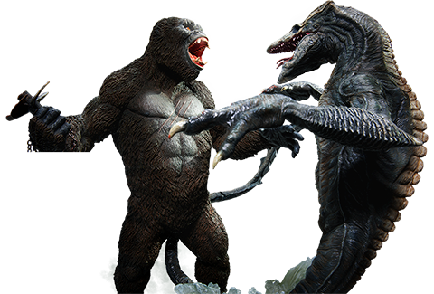 Kong vs Skullcrawler Deluxe Set - Sideshow Collectibles