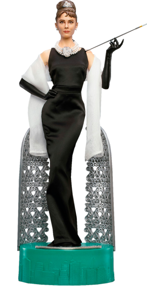 Audrey Hepburn as Holly Golightly (Deluxe With Light) Statue