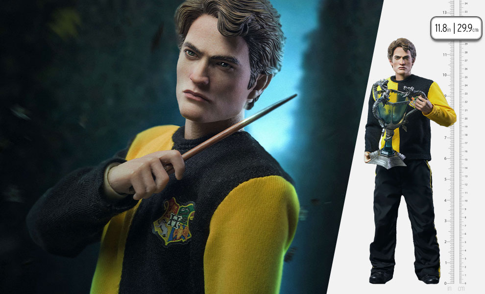 Gallery Feature Image of Cedric Diggory (Tri-Wizard Version) Sixth Scale Figure - Click to open image gallery