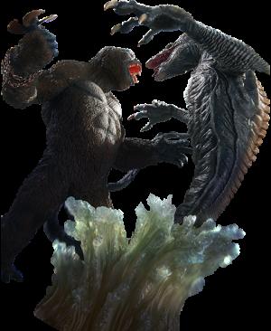 Kong VS Skullcrawler Collectible Set