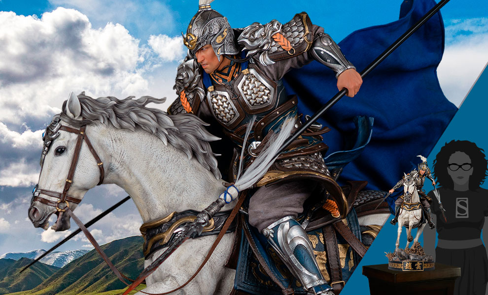Gallery Feature Image of Zhao Yun Elite Edition (Version 2.0) Statue - Click to open image gallery