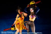 Gallery Image of Leatherface Chainsaw Dance Statue