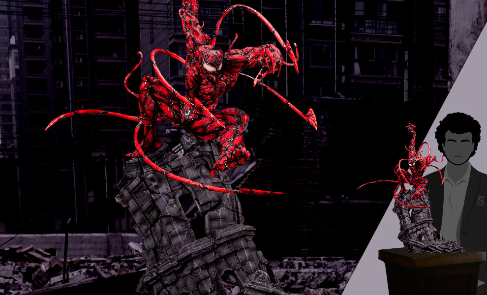 Gallery Feature Image of Maximum Carnage Statue - Click to open image gallery