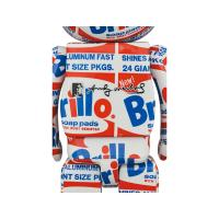 "Gallery Image of Be@rbrick Andy Warhol ""Brillo"" 100% & 400% Collectible Set"