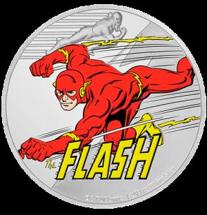 The Flash 1oz Silver Coin Silver Collectible