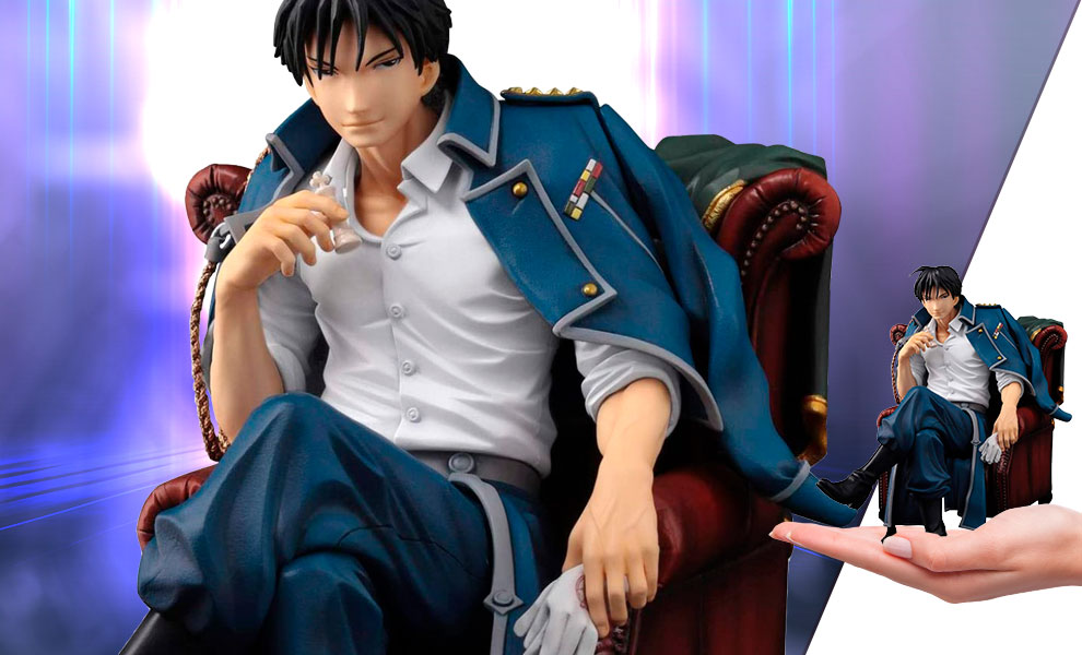 Gallery Feature Image of Roy Mustang Collectible Figure - Click to open image gallery