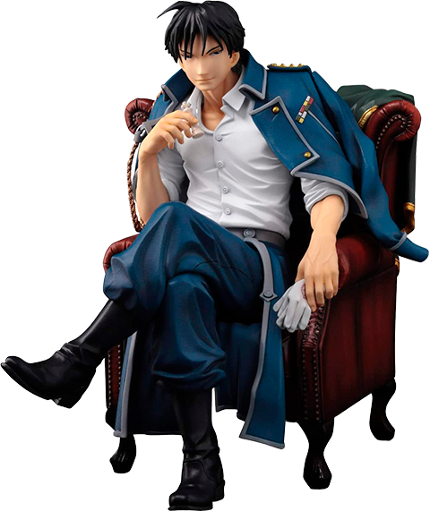 Sentinel Roy Mustang Collectible Figure