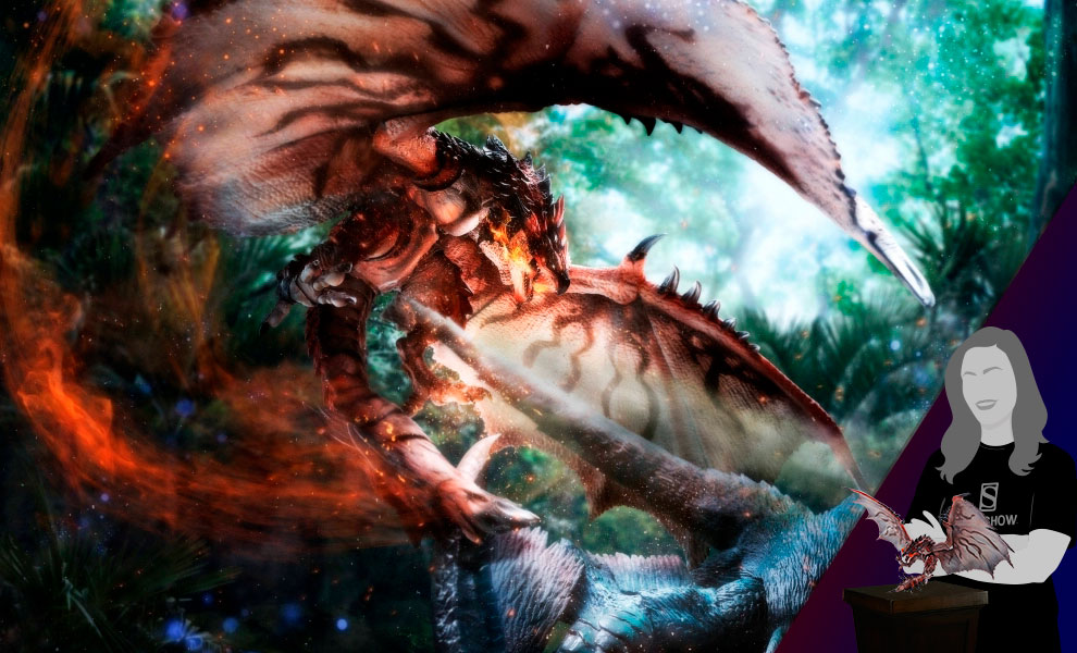 Gallery Feature Image of Rathalos Collectible Figure - Click to open image gallery