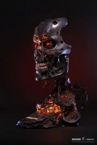 Gallery Image of T-800 Battle Damaged Art Mask Life-Size Bust