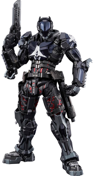 Arkham Knight Batman (Hito Kara Kuri) Action Figure